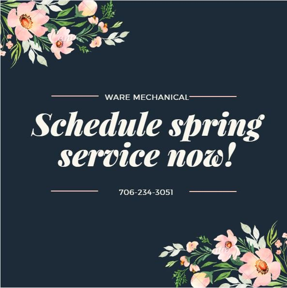 Spring Maintenance Time!